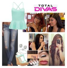 Total Divas: No Relationship Is Perfect by samantha-vance on Polyvore featuring Forever New, Dee Keller, Saks Fifth Avenue, Allurez, Hollister Co. and Episode