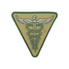 Maxpedition pays tribute to this historical design in this incredibly intricate PVC Caduceus morale patch. www.Maxpedition.com