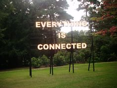 Everything is Connected - Yorkshire Sculpture Park