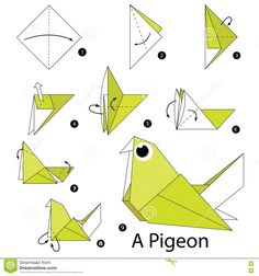 origami dove printable instructions | International Night ... - photo#13