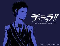Ryuugamine Mikado by myooomy on DeviantArt