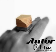See you soon! #autorfair #autor #contemporaryjewelry #ring #cube #geometric #savethedate Cube, Cufflinks, Rings, Accessories, Jewelry, Author, Jewlery, Jewerly, Ring