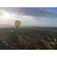 Ballooning over fairy chimneys of Cappadoccia Turkey