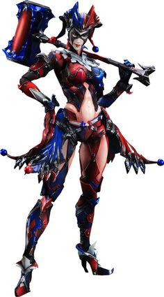 Play Arts Kai Variant Harley Quinn Figure