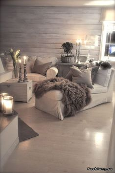 Cozy Living Room How To Decorate Your Add Winter