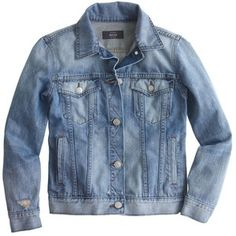 J.Crew Broken-In Jean Jacket