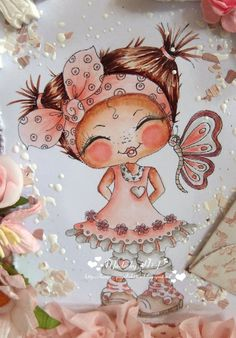 Bestie image -Tickles Butterfly Kisses- close-up by Hilde