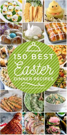 Celebrate Easter these delicious Easter dinner ideas There are fresh seasonal recipes for appetizers main entrees side dishes and desserts There are many Easter menu ideas to choose from including asparagus appetizers baked ham roasted carrots # Easter Appetizers, Easter Dinner Recipes, Appetizer Recipes, Holiday Recipes, Sides For Easter Dinner, Easter Dinner Ideas, Family Recipes, Spring Dinner Ideas, Easy Easter Recipes
