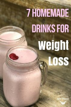 Looking for tips to lose weight? Pair your weight loss diet with these homemade drinks for weight loss to get quick, real results! @DIYactiveHQ #weightloss #recipe