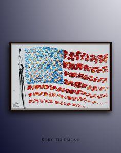 American Flag 40 USA flag United states of america by KobyFeldmos
