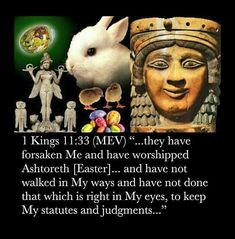 Think Easter is ALL about Jesus' resurrection? Think again… The Babylonian Origins of Easter (Ishtar) & Babylonish symbols Babylon The Great, Learn Hebrew, Begotten Son, Love Truths, Bible Truth, Jehovah's Witnesses, Worship, Religion, Faith