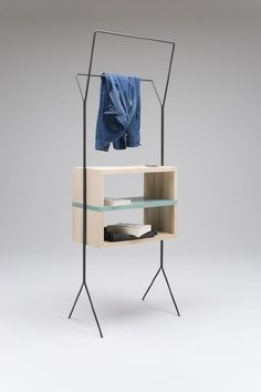 """Maisonnette by Simone Simonelli - """"Maisonnette"""" in French means small house. The aim here has been to propose a collection of furnitures that meets the contemporary need of sharing functions in the microliving spaces."""