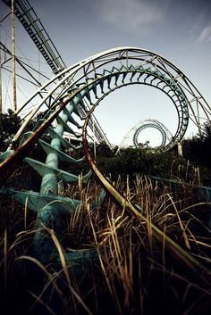 Nara Dreamland, abandoned amusement park, Japan. (1963-2006)