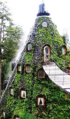 Magic Mountain Hotel, Huilo Huilo, Chile, Places to See Before you Die - Community - Google+