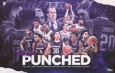Northwestern Basketball - NCAA Tournament Graphics on Behance