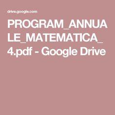 PROGRAM_ANNUALE_MATEMATICA_4.pdf - Google Drive