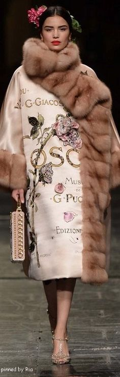 Dolce & Gabbana Alta Moda 2016 l Ria