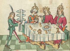 Ms. germ. qu. 12 - Die sieben weisen Meister SchreiberHans <Dirmstein> ErschienenFrankfurt, 1471 Folio 118v