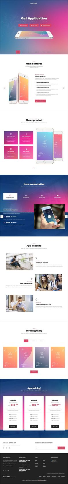 Soliaris is beautiful multipurpose responsive #WordPress theme for #webdesign digital agency, freelancer, #app, startup, business, services, software company websites with 18+ homepage layouts download now➩ https://themeforest.net/item/soliaris-multiconcept-business-wordpress-theme/17600904?ref=Datasata