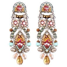 Blue Ayala Bar Jewelry Azuline Earrings> I see an owl and skull/crossbones in these