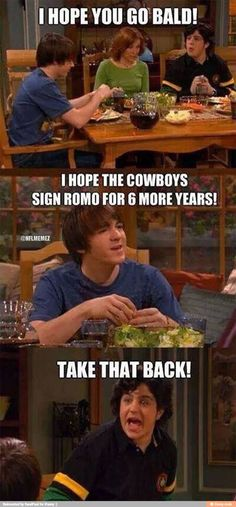 I saw this and thought of you bc you understand sports @christ0490 I just like drake and josh