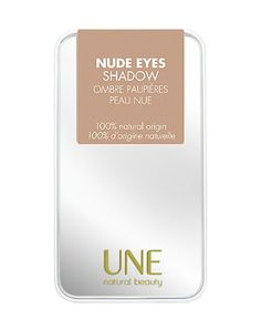 UNE Nude Eyes Shadow £8.99