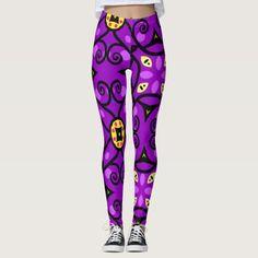 Purple Seamless Women's Pants Leggings