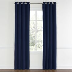 Navy-Blue-Velvet-Grommet-Curtain-Front