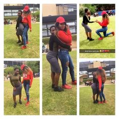 FOW 24 NEWS: SMH! Photos Of A Young Nigerian Girl Proposing To ...