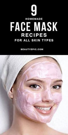 Top 9 Homemade Face Mask Recipes for All Skin Types The face mask recipes provided below that are perfect for all skin types. These entire products are available in your kitchen. Here are Simple Homemade Face Masks for All Skin Types Face Mask For Spots, Easy Face Masks, Face Masks For Kids, Diy Face Mask, Face Scrub Homemade, Homemade Face Masks, Homemade Skin Care, Homemade Facials, Coffee Face Mask