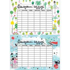Lataa lukujärjestys | Virkkukoukkunen School Bulletin Boards, Home Organization, Clip Art, Map, Education, Location Map, Cards, Maps, Learning