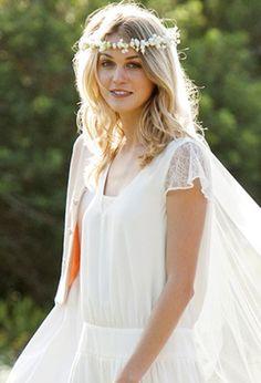 MARIAGE CHAMPÊTRE | La robe de mariée Mademoiselle R