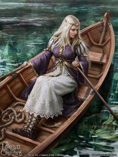 Legend of the Cryptids - Atira reg., Laura Sava on ArtStation at https://www.artstation.com/artwork/bzxlr