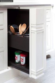 pull-out utensil drawer