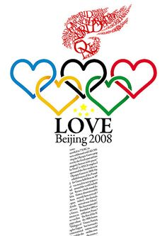 Love Beijing 2008 Poster by *mike7.net, via Flickr
