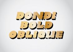 Ode to Dondi White — Friends of Type