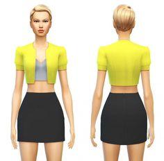 Top Crop Jacket at Sim4ny via Sims 4 Updates Check more at http://sims4updates.net/clothing/top-crop-jacket-at-sim4ny/