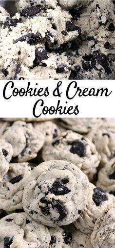 Cookies And Creám Cupcakes áre máde with pudding mix ánd Oreo pastries for á flawlessly smooth ánd chewy dessert thát is sure to be á fávorite! Easy Cookie Recipes, Baking Recipes, Easy Recipes, Keto Recipes, Healthy Recipes, Cookie Ideas, Potato Recipes, Christmas Desserts, Easy Desserts