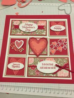 Valentines Frames, Valentine Ideas, Valentine Cards, Collage Frames, Paper Frames, Collages, Scrapbook Cards, Scrapbooking, Holiday Pictures