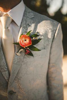 Buttonholes, Boho Wedding, Bohemian, Brooch, Romantic, Color, Jewelry, Fashion, Moda