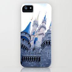 Disney Castle In Color iPhone Case $35.00