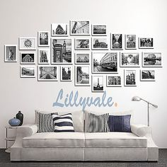 Details about Large Multi Picture Photo Frames Wall Set Art Deco Home Picture 23 of 28 Frame Wall Collage, Photo Wall Collage, Framed Wall Art, Collage Picture Frames, Collage Ideas, Photo Wall Displays, Picture Frames On Wall, Wall Of Frames, Family Wall Collage