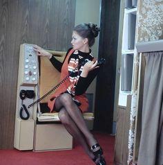 United Airlines stewardess, 1970