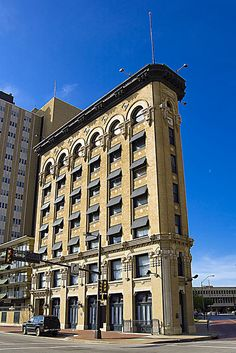 The Fort Worth Flatiron Building - The Flatiron Building is located in downtown Fort Worth, Texas, at the corner of Houston and West 9th streets.