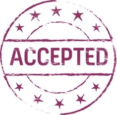 Stamp, Accepted, Symbol, Accept