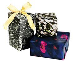 Ltd ed gift wrap designed by Rachel Zoe