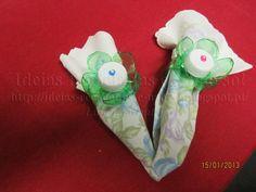 Argolas de Guardanapos (Garrafas de Plástico/Pet)