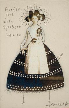 Firefly Girl by LynnWhipple on Etsy, $24.00