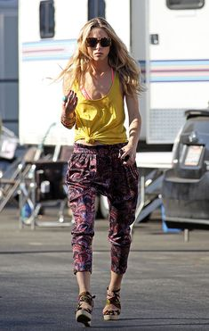 gillian zinser - again her pants!