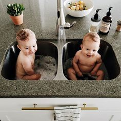double bath time